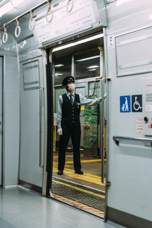 uv light clean train cars
